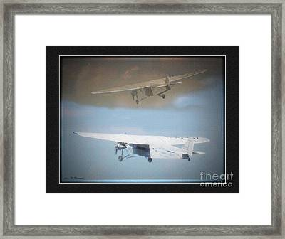 Ford Trimotor Framed Print by John Breen
