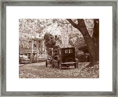 Fords At Harpers Ferry Framed Print by Williams-Cairns Photography LLC