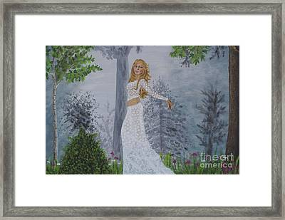 Forest Frolic Framed Print by William Ohanlan