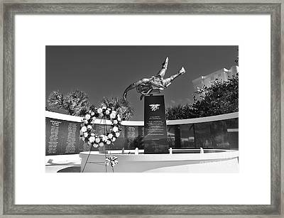 Forever Hooyah 2 Framed Print by Lynda Dawson-Youngclaus