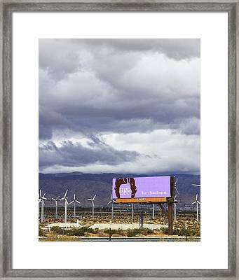 Forever Palm Springs Framed Print by William Dey