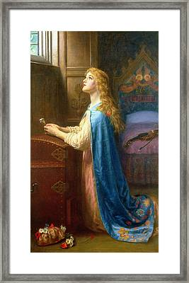 'forget Me Not' Framed Print by Arthur Hughes