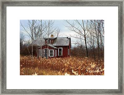 Forgotten And Abandoned Framed Print by Ms Judi