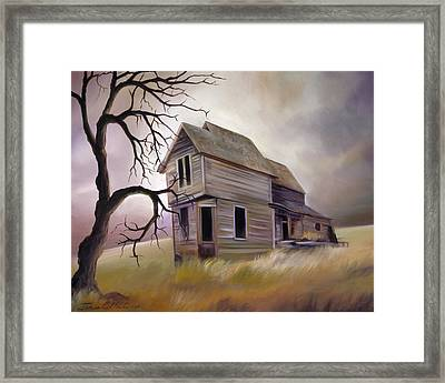 Forgotten But Not Gone Framed Print by James Christopher Hill
