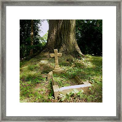 Forgotten Grave Framed Print by Felix Concepcion