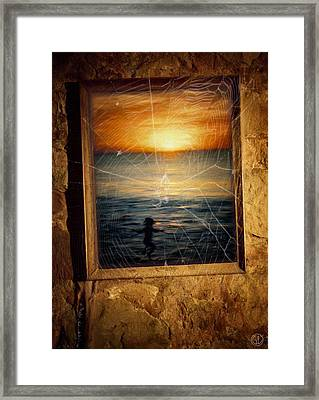 Forgotten Summer Framed Print by Gun Legler