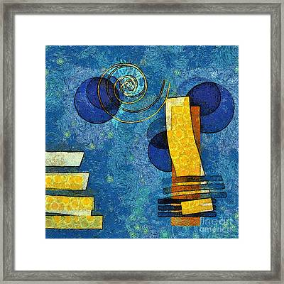 Formes - 09g Framed Print by Variance Collections