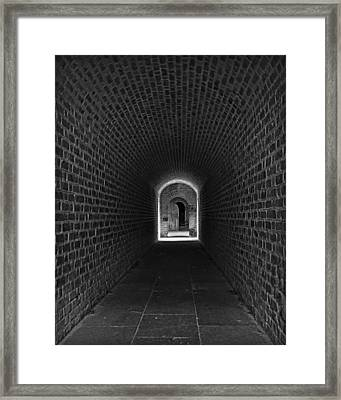 Fort Clinch Framed Print by Mario Celzner