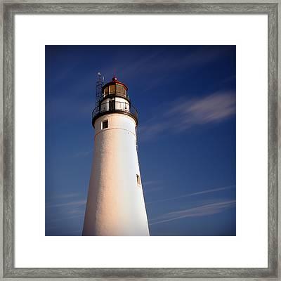 Fort Gratiot Lighthouse Framed Print by Gordon Dean II
