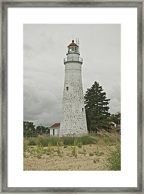 Fort Gratiot Lighthouse Framed Print by Michael Peychich