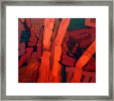 Fortissimo Framed Print by John  Nolan