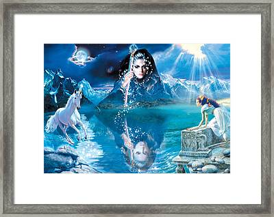 Fortunes Dream Framed Print by Andrew Farley