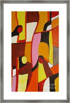 Four Women Framed Print by Nedunseralathan R