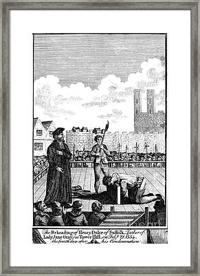 Foxes Book Of Martyrs Framed Print by Granger