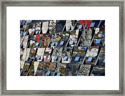 Fragmented Guggenheim Museum Bilbao Framed Print by RicardMN Photography