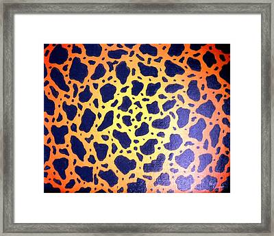 Fragments Framed Print by Edwin Alverio