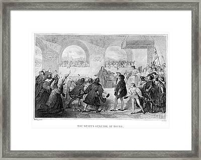 France: Estates-general Framed Print by Granger