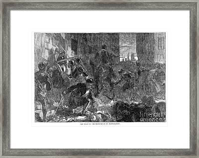 France: Massacre, 1572 Framed Print by Granger