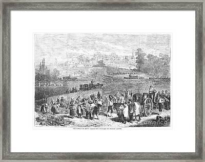 France: Wine Harvest, 1871 Framed Print by Granger