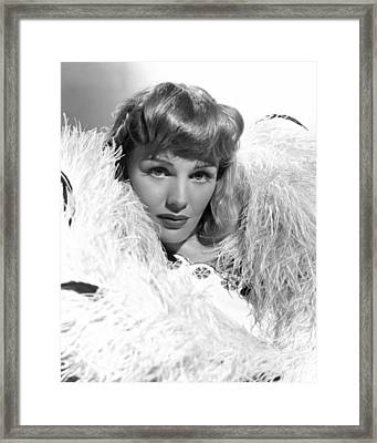Frances Farmer, Ca. Late 1930s Framed Print by Everett