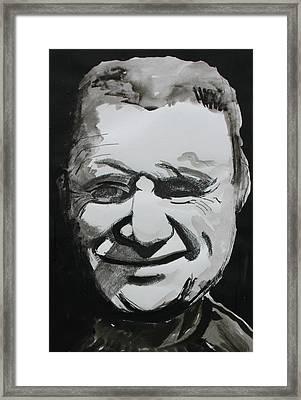Francis Bacon Study Framed Print by Gerard Dillon