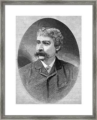 Francis Brett Harte Framed Print by Granger