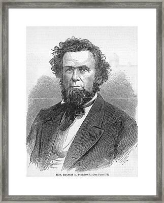 Francis H. Pierpont (1814-1899) Framed Print by Granger