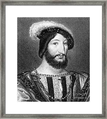 Francis I (1494-1547) Framed Print by Granger