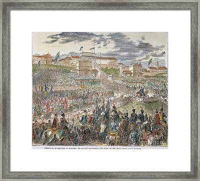 Francis Joseph I Of Austria Framed Print by Granger
