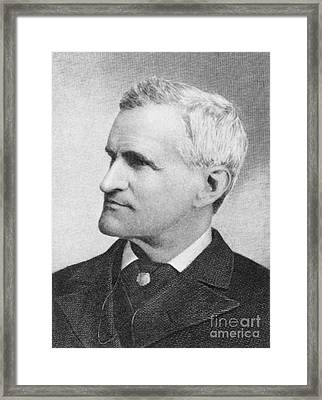 Francis Parkman (1823-1893) Framed Print by Granger