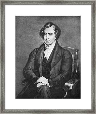 Francois Arago, French Physicist Framed Print by