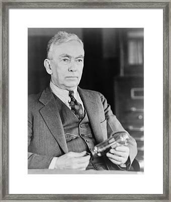 Frank Conrad 1874-1941, Radio Pioneer Framed Print by Everett