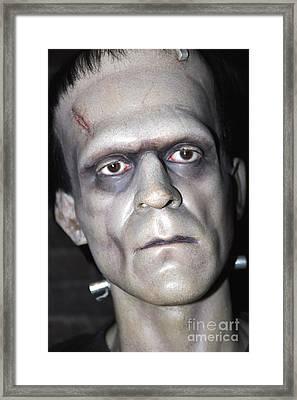 Frankensteins Monster Framed Print by Sophie Vigneault