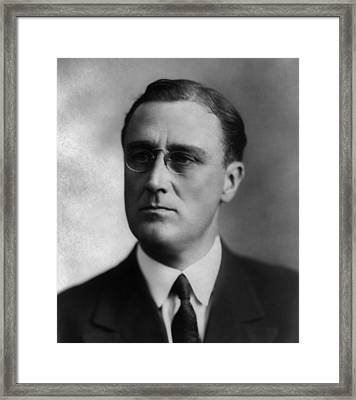 Franklin Delano Roosevelt Framed Print by International  Images