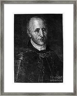 Fran�ois Coulon De Villiers Framed Print by Granger