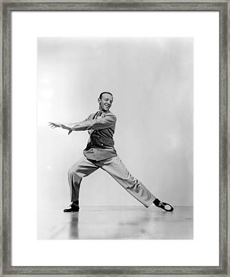 Fred Astaire Framed Print by Everett