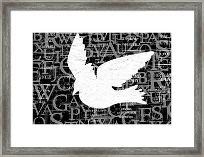Free Your Mind  Framed Print by Angelina Vick