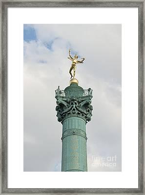 Freedom Framed Print by Fabrizio Ruggeri