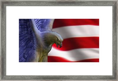 Freedom Flyer Framed Print by Anthony Citro