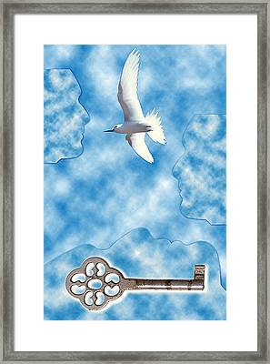 Freeing My Dreams Framed Print by Steeve Dubois