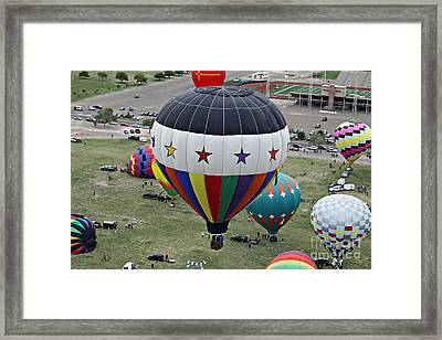 Freestar Framed Print by Shawn Naranjo