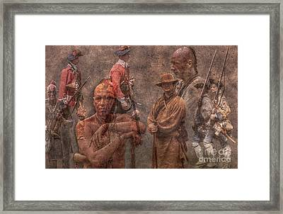 French And Indian War 1754 - 1763 Framed Print by Randy Steele