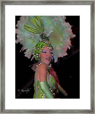 French Feathers Framed Print by Cheri Randolph
