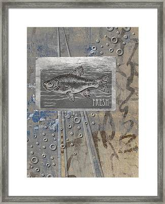 Fresh Fish Framed Print by Carol Leigh