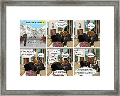 Freud And His Diagnosis II Framed Print by Kevin  Marley