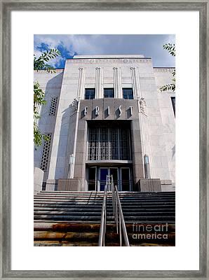 Frist Nashville Framed Print by Susanne Van Hulst
