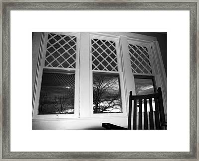 From An 1870's House's Pov Framed Print by Betsy C Knapp