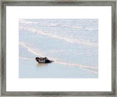 From Here To Eternity Framed Print by Jeff Lowe
