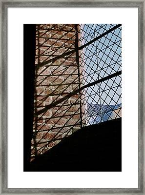 From The Inside Framed Print by Odd Jeppesen