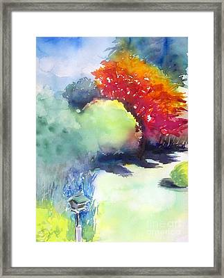 From The Window Framed Print by Yoshiko Mishina